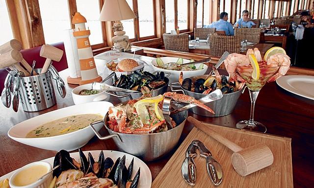 مطعم آبرونز آند هامرز