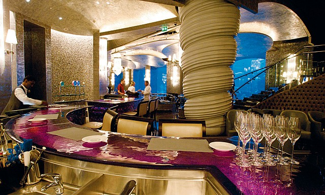 مطعم بحري في الجي بي ار