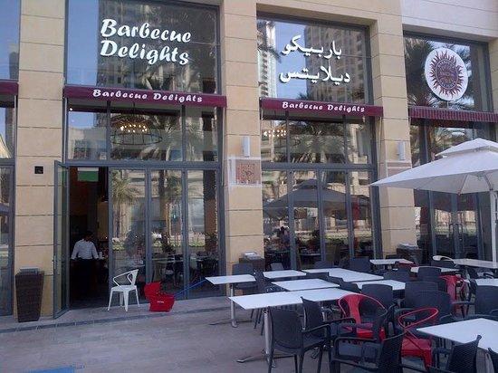 مطعم باربيكيو ديلايتس من مطاعم هندية في دبي