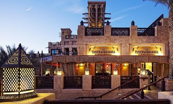 مطعم تايمز أوف أرابيا من مطاعم لبنانية في دبي
