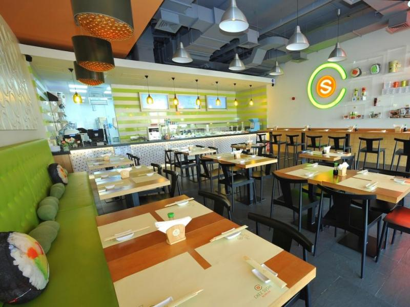 مطعم تشيز سوشي من افضل مطاعم يابانية في دبي