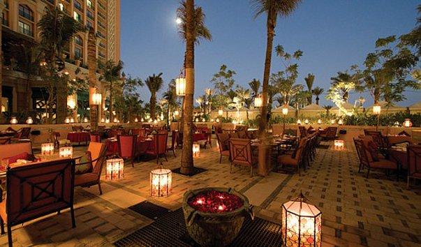 مطعم ليفانتين من مطاعم لبنانية في دبي