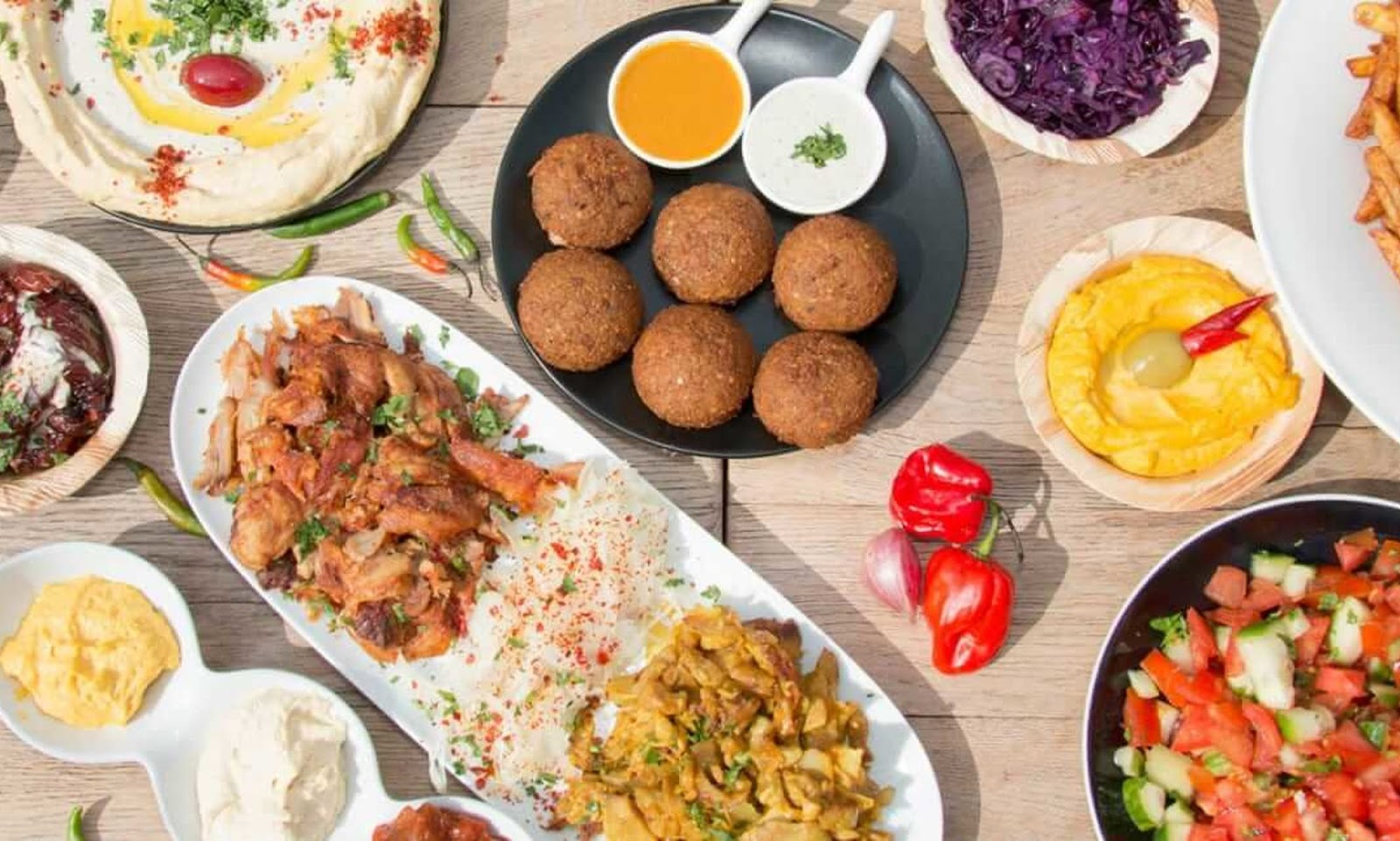 أبرز 10 مطاعم شامية في دبي