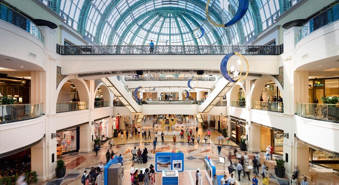 أكثر 3 مراكز تسوق شعبية في دبي