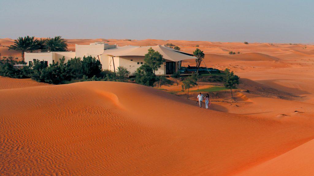 تعد محمية دبي الصحراوية من اهم الاماكن السياحية في دبي