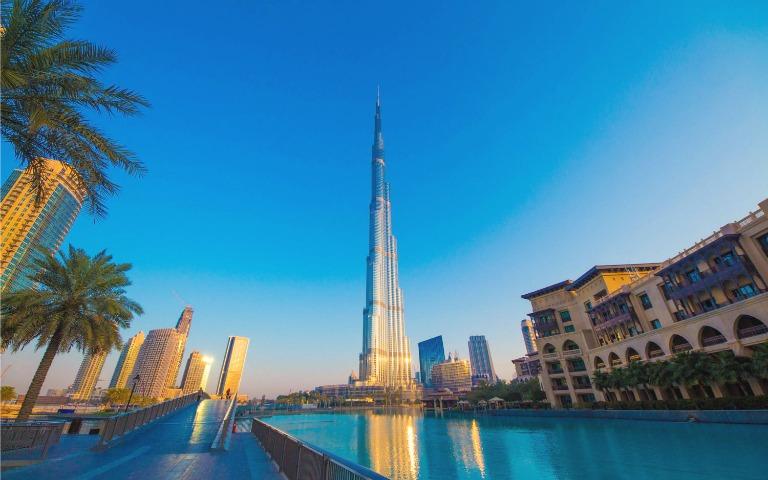 برج خليفة من أهم الاماكن السياحية في دبي