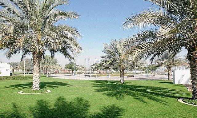 حديقة القوز من حدائق دبي الجديدة