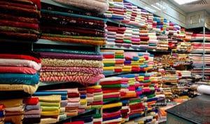 سوق الاقمشة في دبي