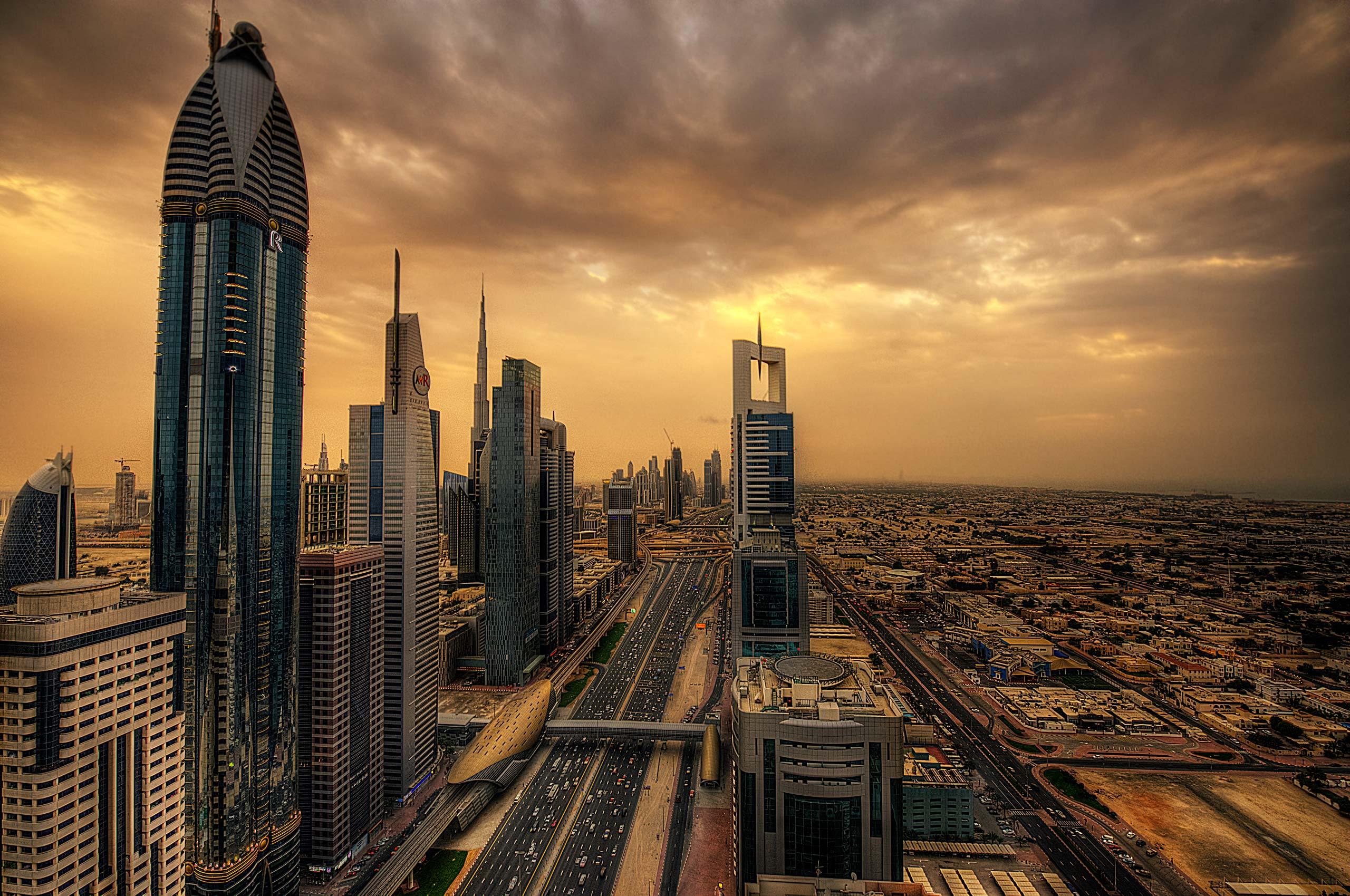 فنادق في دبي شارع الشيخ زايد