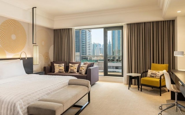 فنادق جي بي ار دبي المُميزة