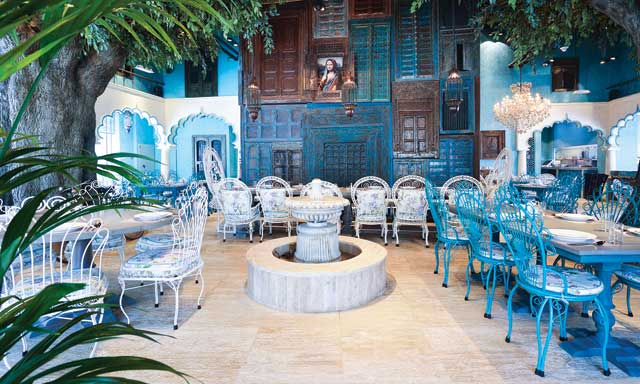 مطعم بيت الكاري من اشهر مطاعم هندية في دبي