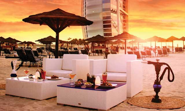أوشين بلو مطاعم على البحر في دبي