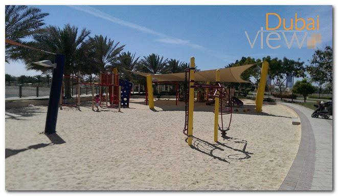 حديقة بحيرة البرشاء في دبي