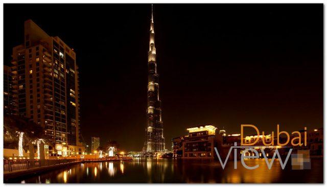 برج خليفة من اشهر مناطق دبي السياحية