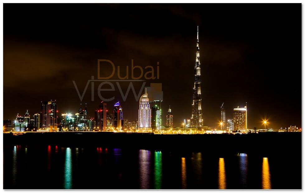 ارتفاع برج خليفة