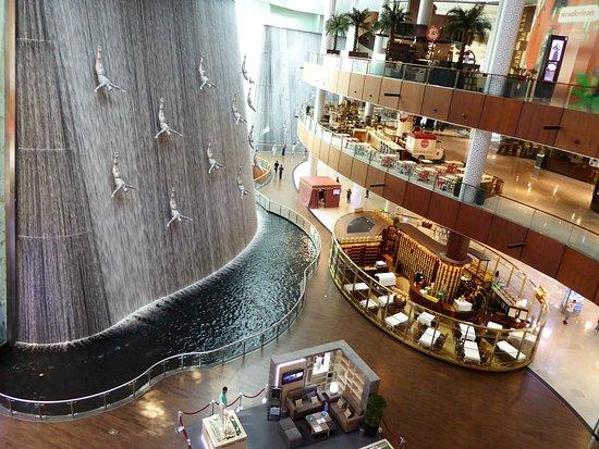 دبي مول - من افضل 10 معالم سياحية في دبي