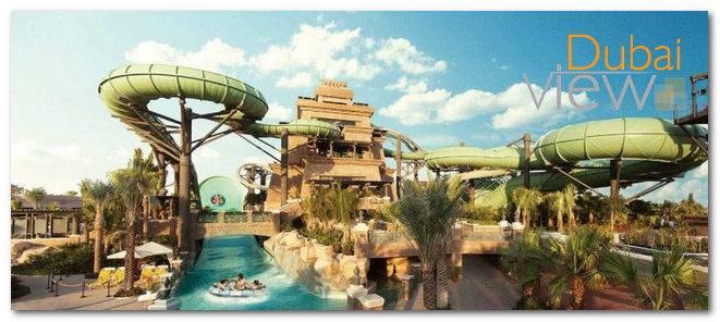 افضل الانشطة في أكوافنتشر المائية دبي