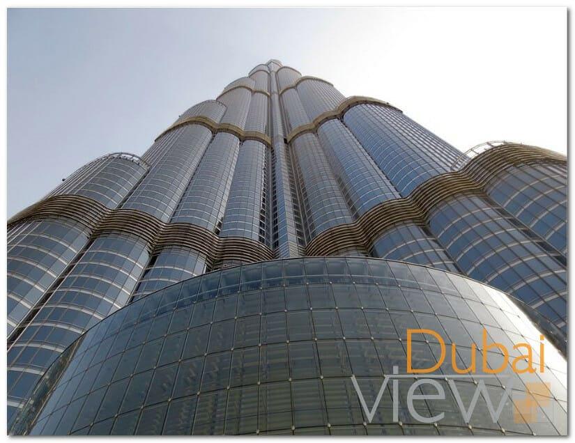 طول برج خليفة