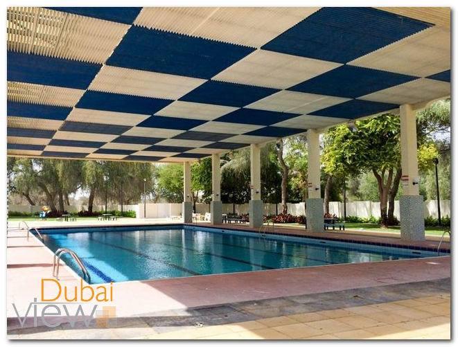 مسبح حديقة مشرف دبي