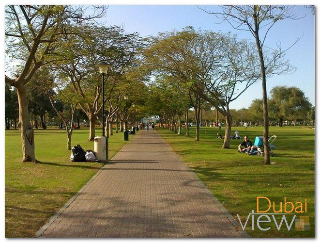 حديقة الصفا من اقدم حدائق دبي