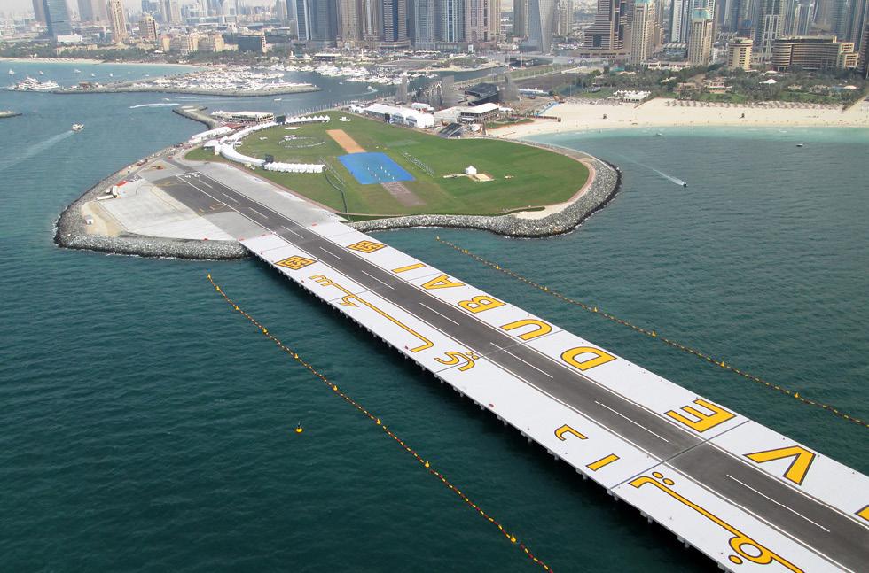 مواقع القفز المظلي في سكاي دايف دبي