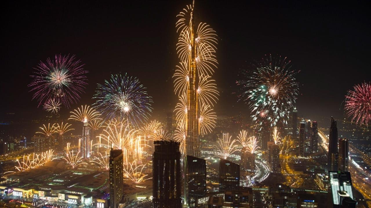 أفضل الأماكن للاحتفال بليلة رأس السنة في دبي 2018