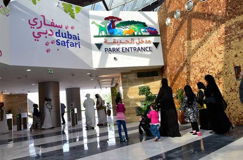 سفاري دبي من اهم الاماكن السياحية في دبي