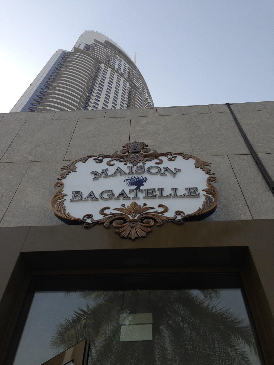Bagatelle Bistro Restaurant Dubai