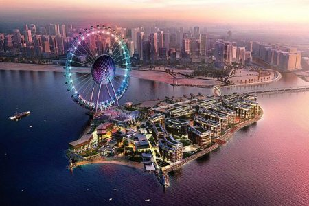 افتتاح جزيرة بلو واترز في دبي 2019