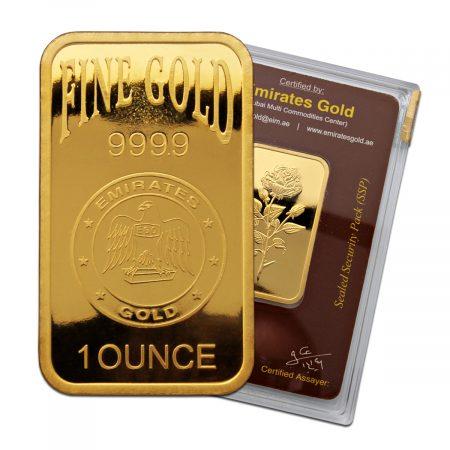 اسعار سبائك الذهب في الامارات