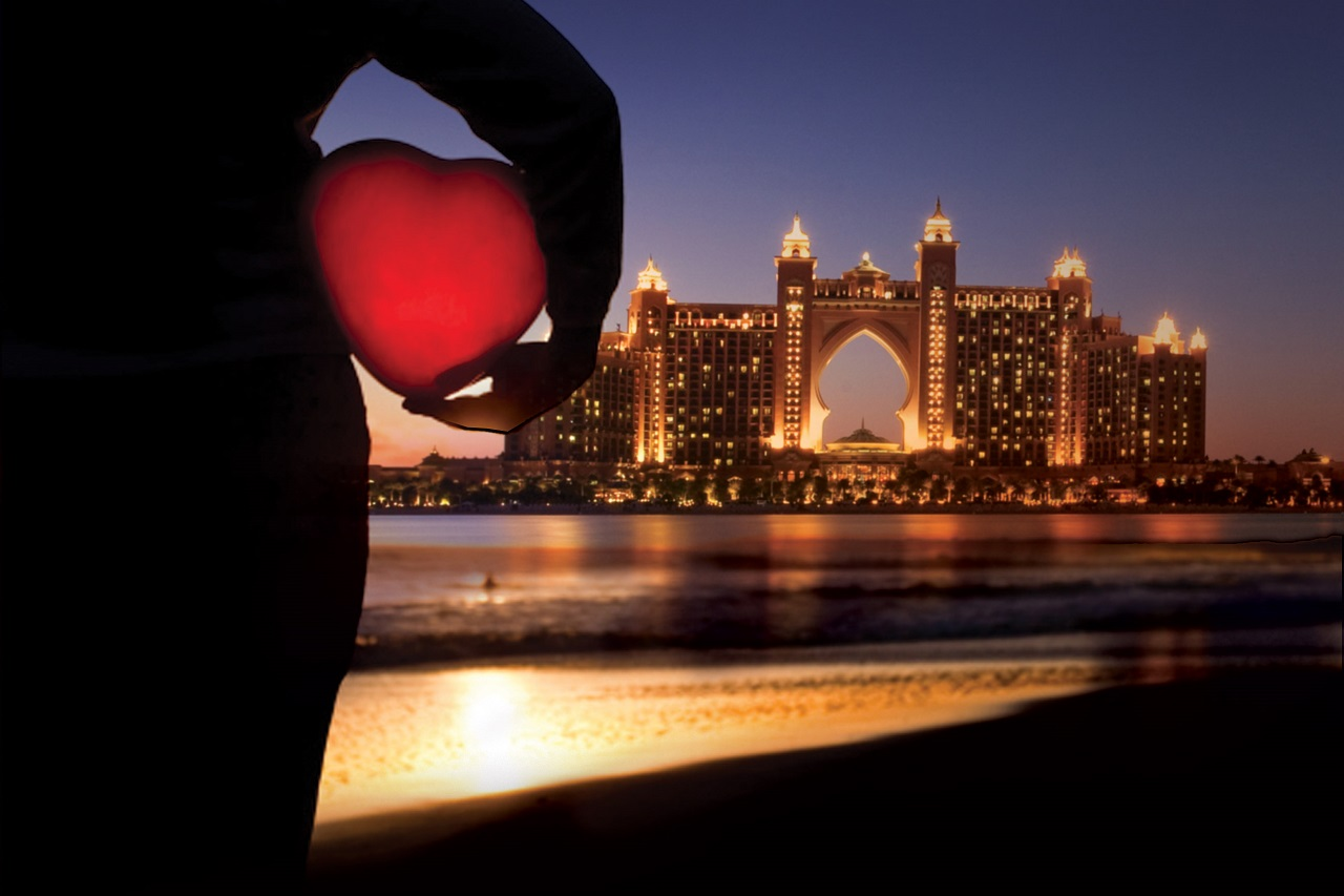 10 أماكن للاحتفال بعيد الحب في دبي 2019