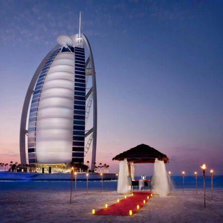 أفضل 10 وجهات لعيد الحب في دبي