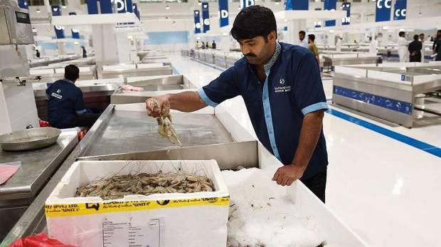 سوق السمك من اسواق دبي المعروفة