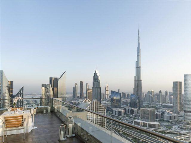 فندق شانغريلا دبي من فنادق شارع الشيخ زايد المُميزة