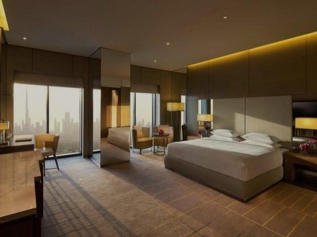 فندق حياة ريجنسي كريك دبي من أفخم فنادق في بر دبي