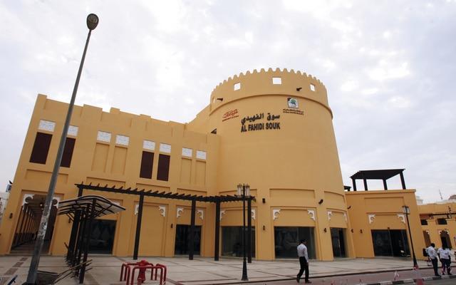 سوق دبي القديم وشارع الفهيدي