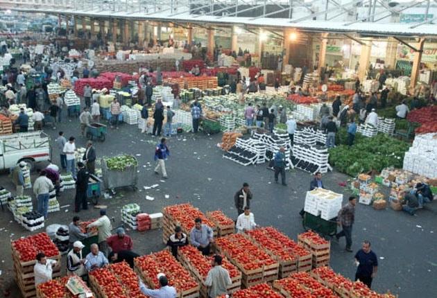 مواعيد العمل في سوق الفواكه والخضروات دبي
